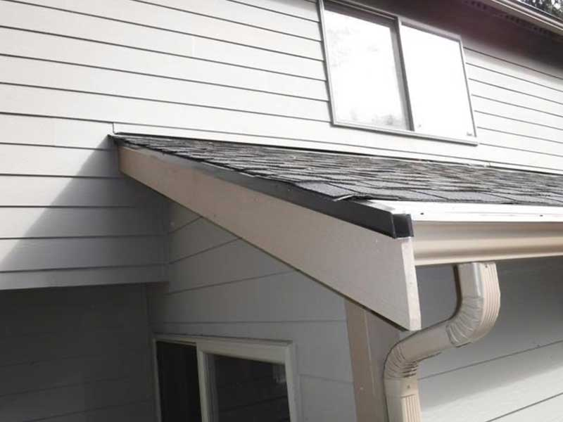 New cleared out downspouts with MasterShield