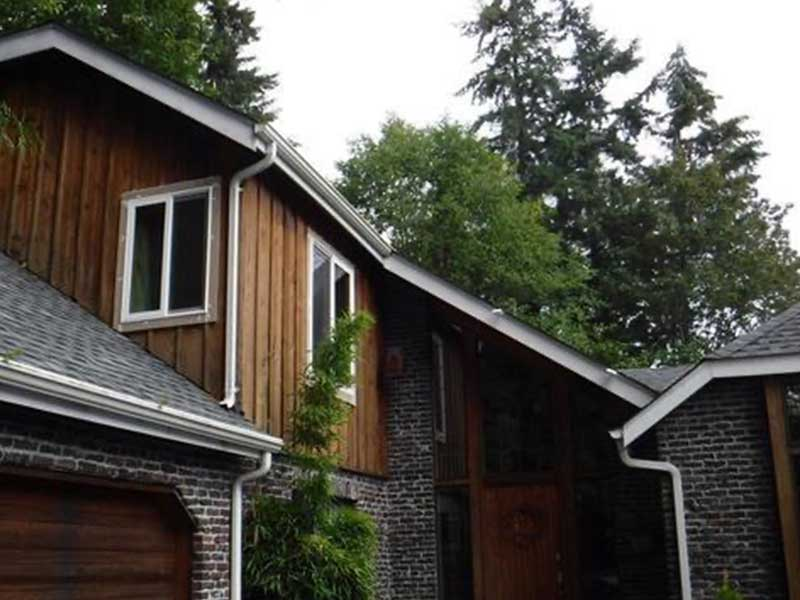 All converted to clog free MasteShield gutters guards in Bothell, Washington