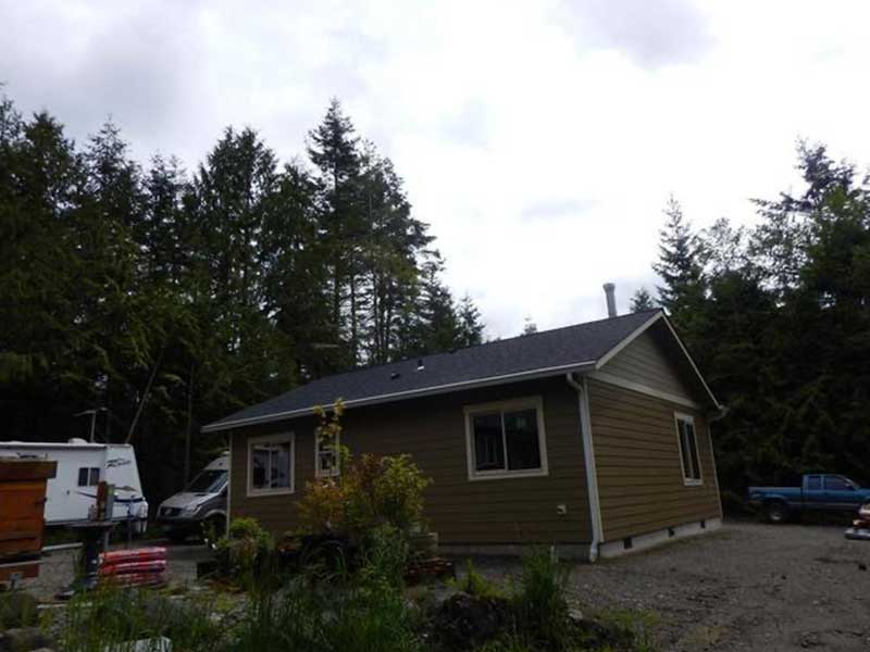 Completed gutter replacement in Port Townsend, WA