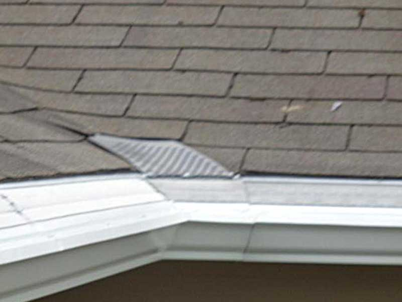 A correctly done corner of gutters in Mount Vernon, WA