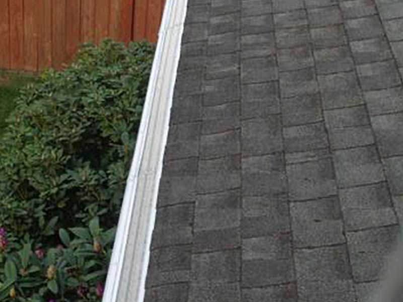 This is what a gutter system should look like!