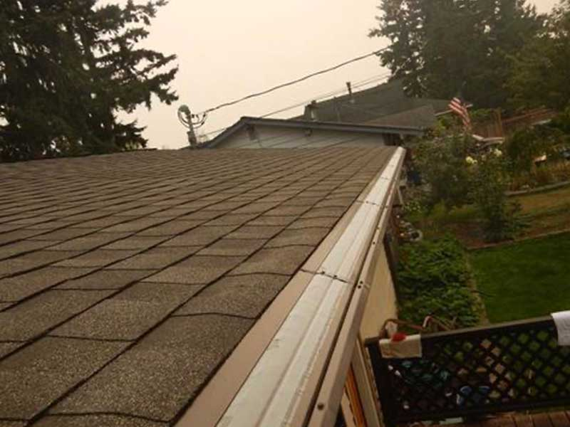 MasterShield installed on the majority of the roof in Mukilteo, Washington