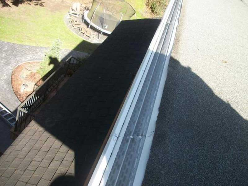 New MasterShield and gutter installed in Graham