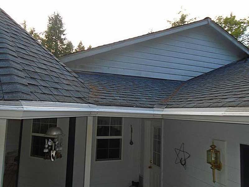No more weeds, needles, or debris in these Rochester gutters