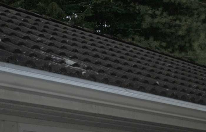 completed gutter