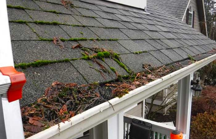 gutters not protected