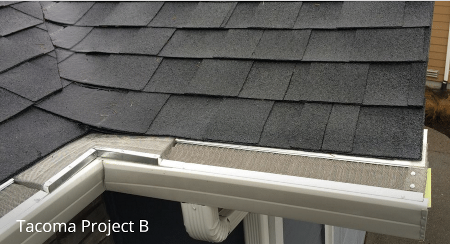 Tacoma gutter project