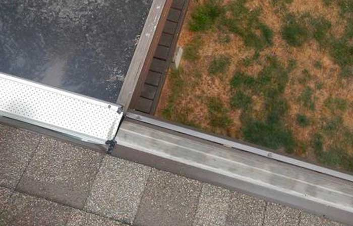 Two gutter systems